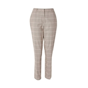 Dorothy Perkins *Tall Pink Grid Check Print Trousers