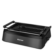 Costway Smokeless Indoor BBQ Grill with Advanced Infrared Technology