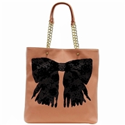 Betsey Johnson Women s Flock A Bows Large Tote Handbag