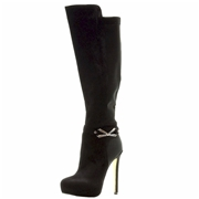 Luichiny Women s Whirl Around Fashion Stiletto Knee High Boot Shoes 9