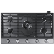 recaro north Samsung NA36N6555TS/AA 36 Gas Cooktop - Stainless Steel Silver