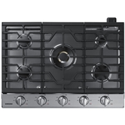 recaro north Samsung NA30N7755TS/AA 30 Power Gas Cooktop with 22 BTU True Dual Burner - Stainless Steel Silver