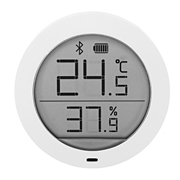 21 geekbuy Xiaomi Mijia Bluetooth Temperature Humidity Monitor APP Control LCD Magnetic Stick Ultra-Low Power Thermostat -White