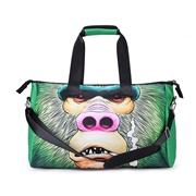 23 geekbuy 3D Creative Printed Orangutan Pattern Men And Women School Bag Travel Satchel Handbag - Multi Color