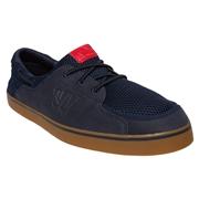 Warrior Coxswain Mens Shoes - Navy/Gum Rubber; 4