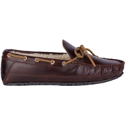 Mens Sperry Gold Cup Leather Slipper Brown, Size 11