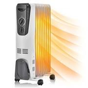 Costway 1500 W Electric Oil Filled Radiator Space Heater
