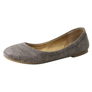 Lucky Brand Little/Big Girls Emmie Ballet Flats Shoes - Brindle - 3 M US Little Kid