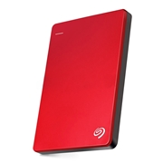 31 geekbuy Seagate Backup Plus Slim STDR2000303 2TB Portable External Hard Drive 2.5 Inch USB 3.0 For Desktop Laptop - Red