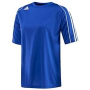 Adidas Squadra II Womens Short Sleeve Shirt; Cobalt/White; Small