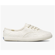 Keds x kate spade new york Champion Lace Off White, Size 5m Womens Shoes