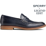 Mens Sperry Gold Cup Exeter Penny Loafer DressBlues, Size 11M
