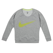 Nike Epic Obsessed Crew Womens Long Sleeve Shirt; Black/Anthracite; Medium