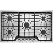 Frigidaire FFGC3626SS 36 15, 000 BTU Gas Cooktop - Stainless Steel Silver