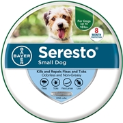Bayer Seresto Flea   Tick Collar for Small Dogs from Entirely Pets