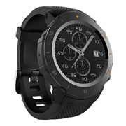 31 geekbuy Makibes A4 4G LTE Smartwatch Phone Android 7.1 MTK6739 Quad Core 1G RAM 16G ROM 1.39 Inch GPS WiFi Heart Rate Monitor - Black