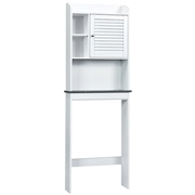 Costway Bathroom Over-the-toilet Space Saver with Adjustable Shelves