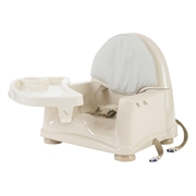 Safety 1st Easy Care Booster Seat with Swing Tray, Beige