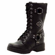Harley Davidson Women s Eda Fashion Leather Boots Shoes