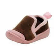 Skidders Girl s Skidproof Gripper Slipper Shoes XY870 6 - Fits 18 Months