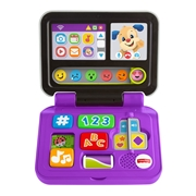 Laugh   Learn Fisher-Price Click   Learn Laptop, Purple