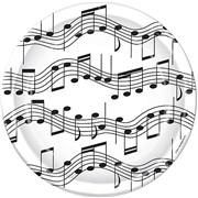 Music Note Dessert Plates