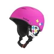 Bolle B-Free Soft Pink Cross 53-57cm Ski Helmet