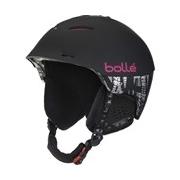 Bolle Synergy Soft Black and Pink 54-58cm Ski Helmet
