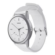 22 geekbuy Lenovo Watch 9 Quartz Smartwatch 5ATM Water Resistant Bluetooth 5.0 Heart Rate Monitor Message Reminder - White