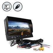 9 TFT LCD Digital Color Rear View Monitor RCA Connections