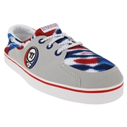 Warrior Coxswain Mens Shoes - Grateful Dead; Gray/White/Red/Blue; 14