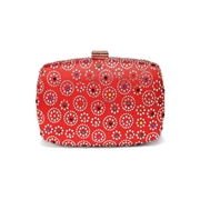 27 geekbuy Women Evening Bag Ladies Party Clutches Wallet Purse Phone Bag-Red