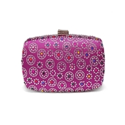 27 geekbuy Women Evening Bag Ladies Party Clutches Wallet Purse Phone Bag-Purple