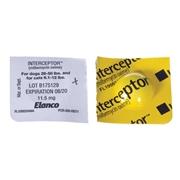 Elanco Animal Health Interceptor Yellow sold per tablet