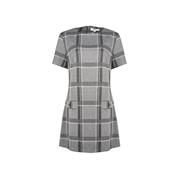 Dorothy Perkins *Tall Grey and White Check Print Tunic