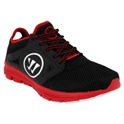 Warrior Pregame Mens Training Shoes - Black/Red; 6