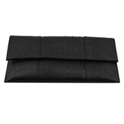 22 geekbuy Womens Bag PU Leather Evening Clutches Bag-Black