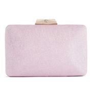 22 geekbuy Womens Satin Clutch Bag Evening Bridal Wedding Fashion PHandbag HS047 - Pink