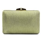 22 geekbuy Womens Satin Clutch Bag Evening Bridal Wedding Fashion PHandbag HS047 - Green