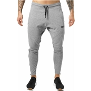 Better Bodies Harlem Zip Pants Greymelange Large - Mens Pants