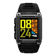 27 geekbuy Makibes G08 2G Smartwatch MTK2503 GPS 9 Axis Swimming Lap Counter Heart Rate Multi-mode Sports Monitoring - Black