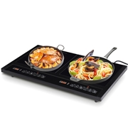 Costway Electric Dual Induction Cooker Cooktop
